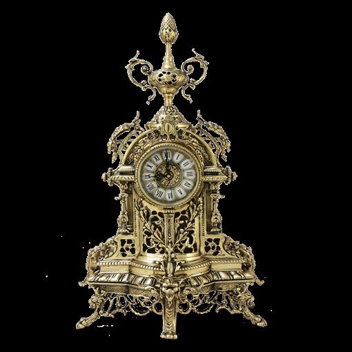 Часы каминные  Пинья  бронзовые BP-27033-D - фото 187545