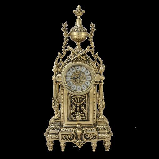 Часы  Дон Луи  каминные бронзовые BP-27119-D - фото 187546
