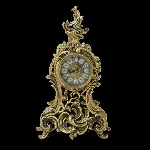 Часы  Сильва  каминные бронзовые BP-27070-D - фото 187548