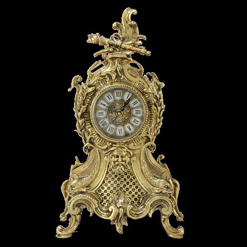 Часы  Карранка  каминные бронзовые  золото BP-27064-D - фото 187549