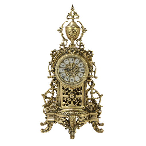 Часы  Кафедрал Ново   каминные бронзовые BP-27085-D - фото 187552