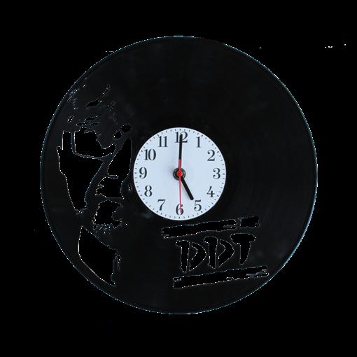 Часы  виниловая грампластинка ДДТ WL-24 - фото 187677