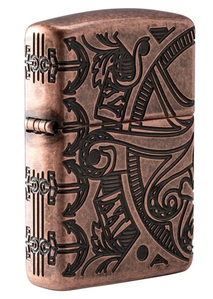 Зажигалка Zippo Armor™ с покрытием Antique Copper™ 49000 - фото 198037