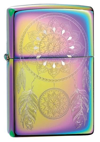 Зажигалка Зиппо (Zippo) Dream Catcher с покрытием Multi Color 49023 - фото 198057