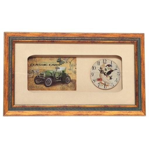Часы настенные декоративные L46 W4,5 H27см 676764 - фото 202042