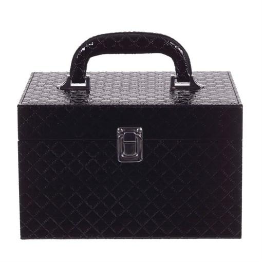 Шкатулка для парфюмерии и косметики, L23,5 W15 H15,5 см - фото 204702