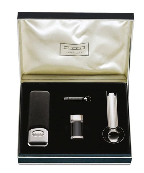 Набор подарочный сигарный, сталь, кожа - фото 251310