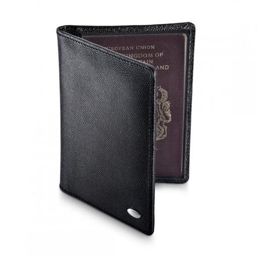 Обложка для паспорта, черная - фото 251318