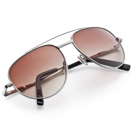 """Очки солнечные """"Авиатор"""", поляризованные стекла, в  кожаном футляре - фото 251320"""