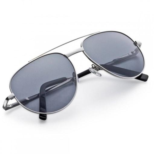 """Очки солнечные """"Авиатор"""", стекла с переменной плотностью защиты, в  кожаном футляре - фото 251321"""
