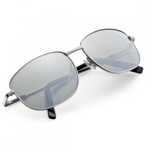 """Очки солнечные """"Адмиральские"""", зеркальные стекла, в  кожаном футляре - фото 251322"""