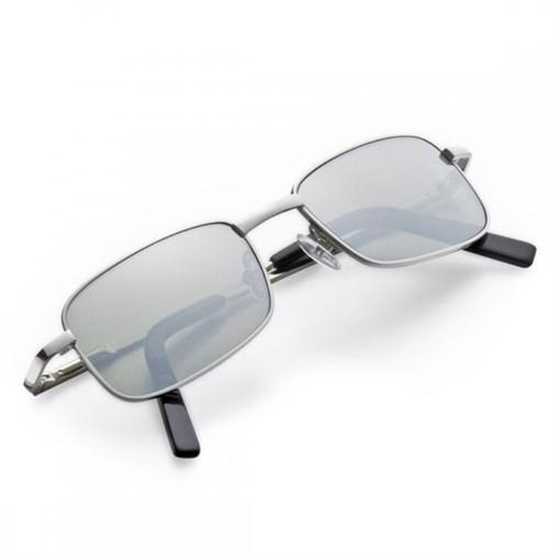 Очки солнцезащитные компактные, зеркальные стекла - фото 251326