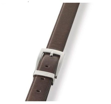 Ремень, кожа, коричневый - фото 251337