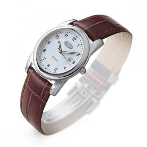 """Часы наручные """"Voyager"""" кварцевые, ремешок коричневый, кожа - фото 251356"""
