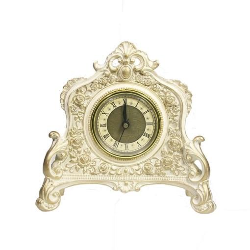 Часы настольные цвет: позолота L21W6.5H19 см - фото 251634