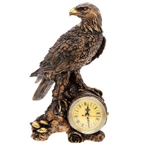 Часы настольные Орел цвет: сусальное золото L18W10.5Н31 см - фото 251635