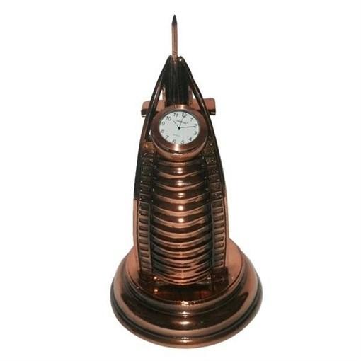 Часы настольные L14.5W14.5H305 см - фото 251652