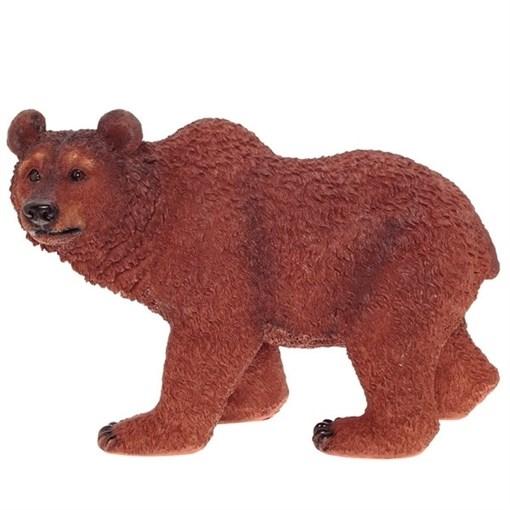 Фигура садовая Медведь L51W28H31.5 см. - фото 251844