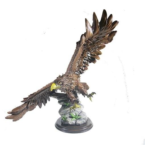 Фигура декоративная Орел цвет: акрил L49W28H49см - фото 252411