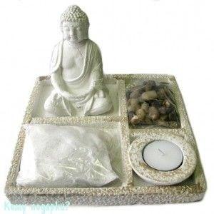 """Композиция """"Будда"""", h=19 см - фото 41823"""