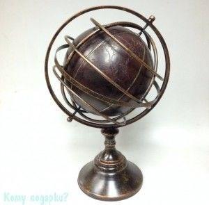 Глобус интерьерный, 39x33,5x63,5 см - фото 41843