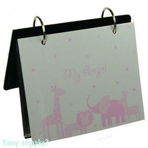 "Фотоальбом на 18 фото ""Мой ангел"", розовый - фото 41938"