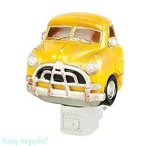 """Ночник """"Автомобиль"""", 9х6х9 см, жёлтый - фото 42163"""
