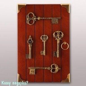 Ключница «Старые ключи», 30х20x6 см - фото 42338