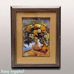 "Ключница домашняя ""Цветы в вазе"", 31.5x25.5 см - фото 42346"