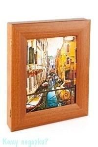 Ключница настенная «Венеция» на 9 ключей, 30х35 см - фото 42347
