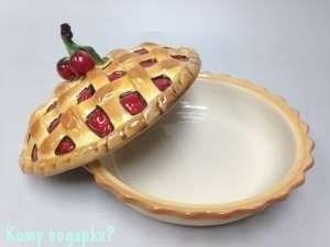 Тарелка для пирога, 26x26x14 см - фото 42435