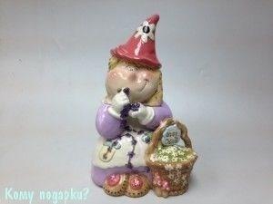 """Банка для печенья """"Гномик-Маргаритка"""" - фото 42456"""