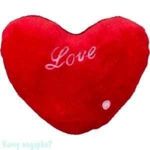 Подушка декоративная сердце «Love», 30х26х10 см, 002 - фото 42470