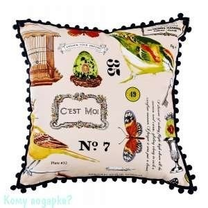 Подушка декоративная «Баттерфляй», 44х44 см, 002 - фото 42498