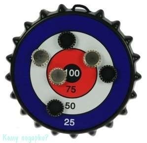 Игра-развлечение к пиву «Магнитная мишень для пивных пробок», 25x25см - фото 42544