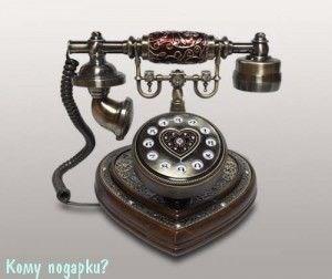 Телефон-ретро, 22x20x23 см - фото 42610