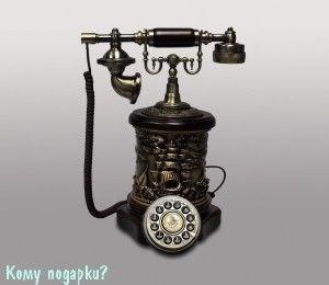 Ретро-телефон, 27x23х36 см - фото 42625