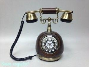 Ретро телефон, 30x25x15 см - фото 42628