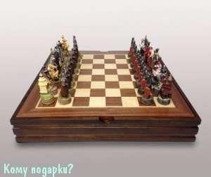 Шахматы «Русско-монгольское сражение» - фото 42646