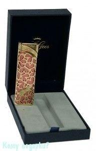 Зажигалка с пьезоэлементом La Geer (Италия), золото-розовый - фото 42756