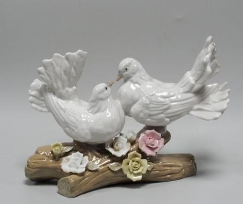 Статуэтка «Пара голубей» - фото 43077