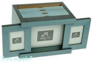Архивный фотоальбом на 72 фото «MORETTO», 20x14x15 см - фото 43243