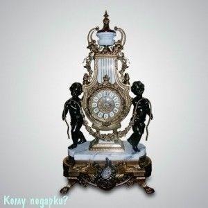 Часы каминные, 35x60 см - фото 43254