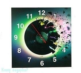 Часы настенные Let us music, 30 см - фото 43288