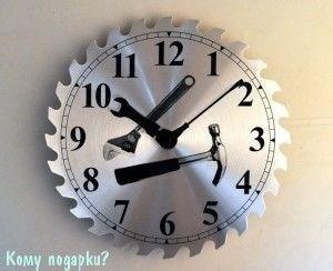 Часы настенные с рисунком «Инструменты» - фото 43296