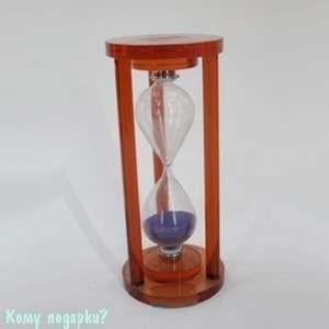 Песочные часы, (без указания времени), фиолетовый песок - фото 43317