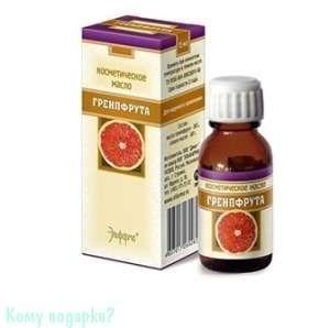 Грейпфрут, масло косметическое 15 мл - фото 43430