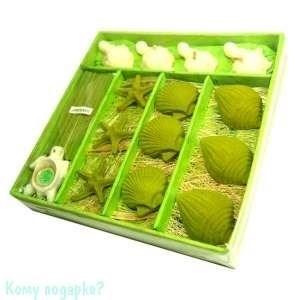 Набор ароматический, зеленый,16,5х16,5х3,5 см - фото 43607