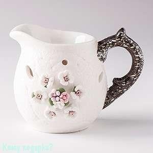 """Аромалампа """"Кувшинчик"""", керамика, 8х9 см - фото 43753"""