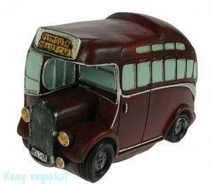 "Копилка-ретро ""Автобус"", 17x8x12 см - фото 43913"